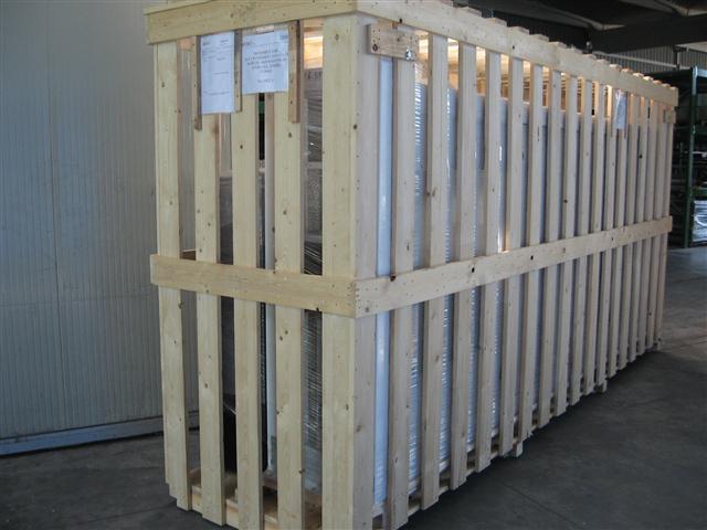 Imballi produzione sital s r l for Cabina di legno